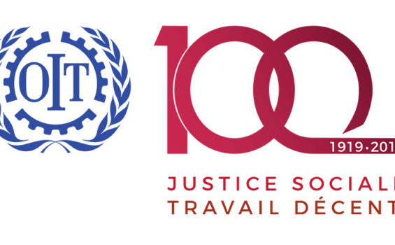 2019 – 1919 – CENTENAIRE DE l'OIT  – JUSTICE SOCIALE ET TRAVAIL DECENT