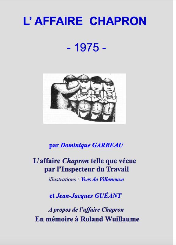 L'affaire CHAPRON- 1975